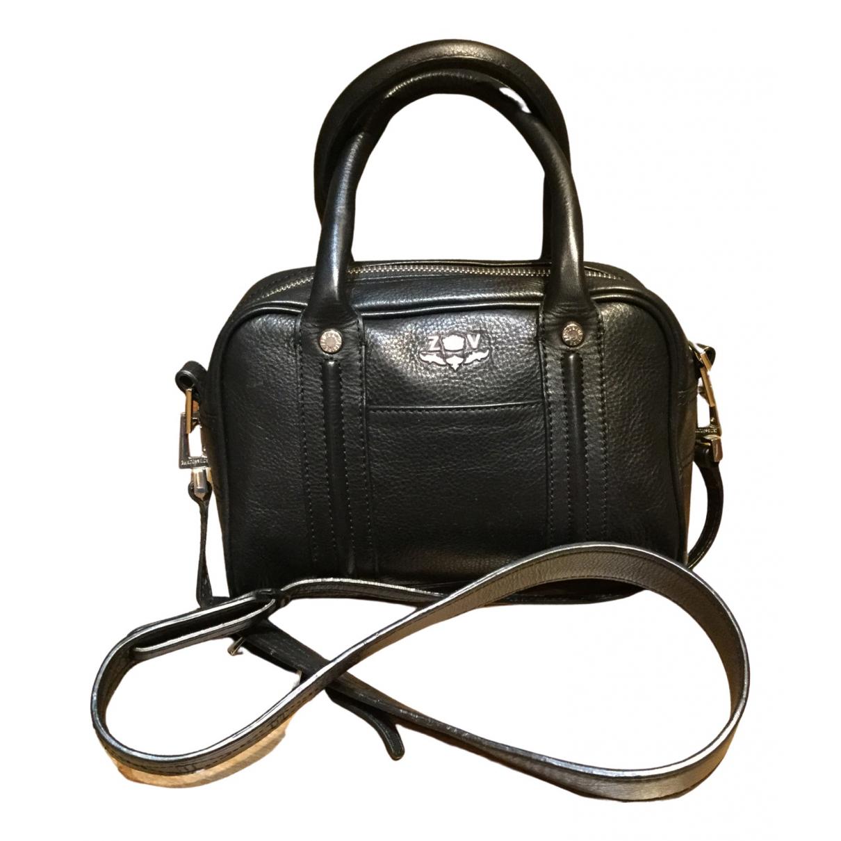 Zadig & Voltaire Rock Black Leather handbag for Women \N