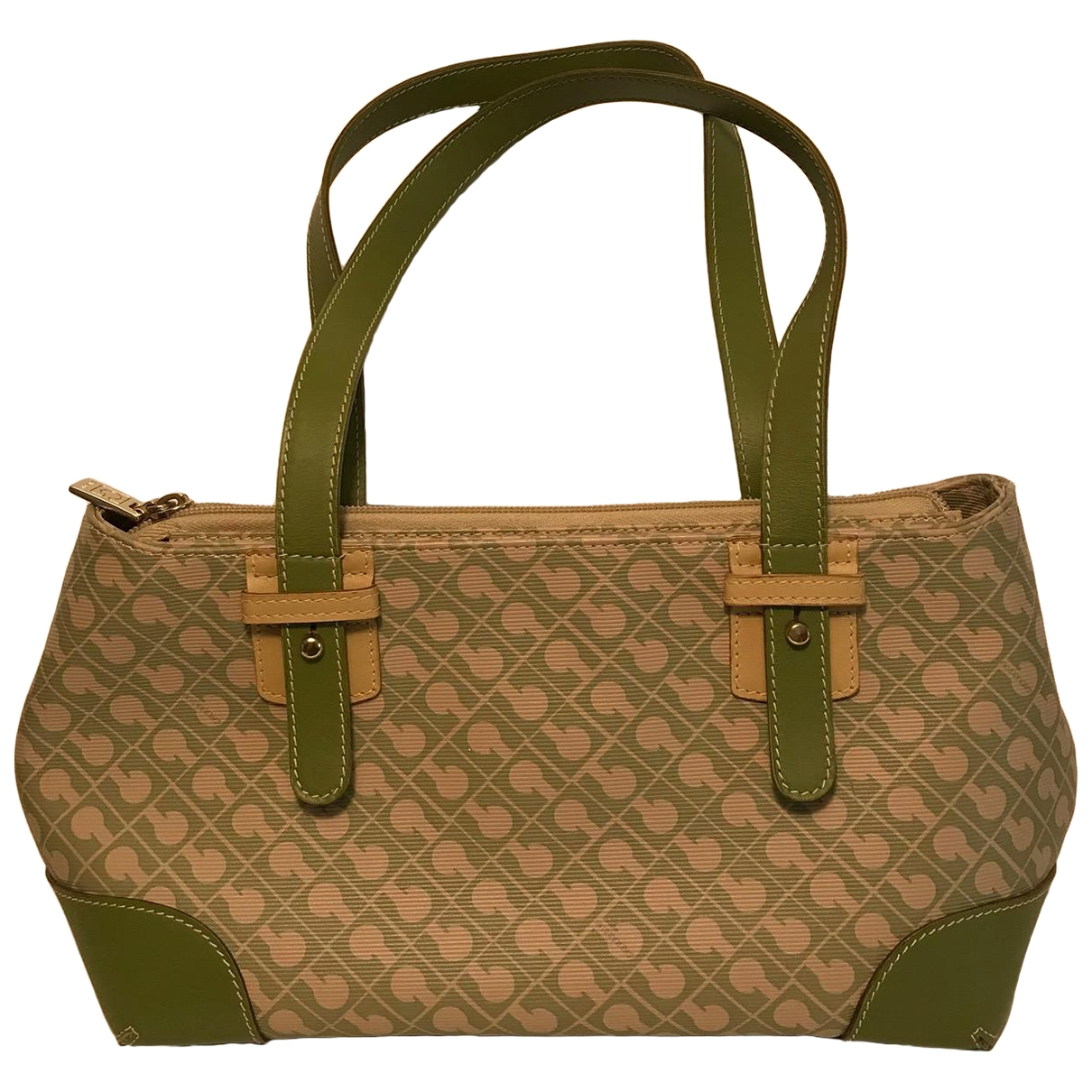 Gherardini \N Handtasche in  Gruen Synthetik
