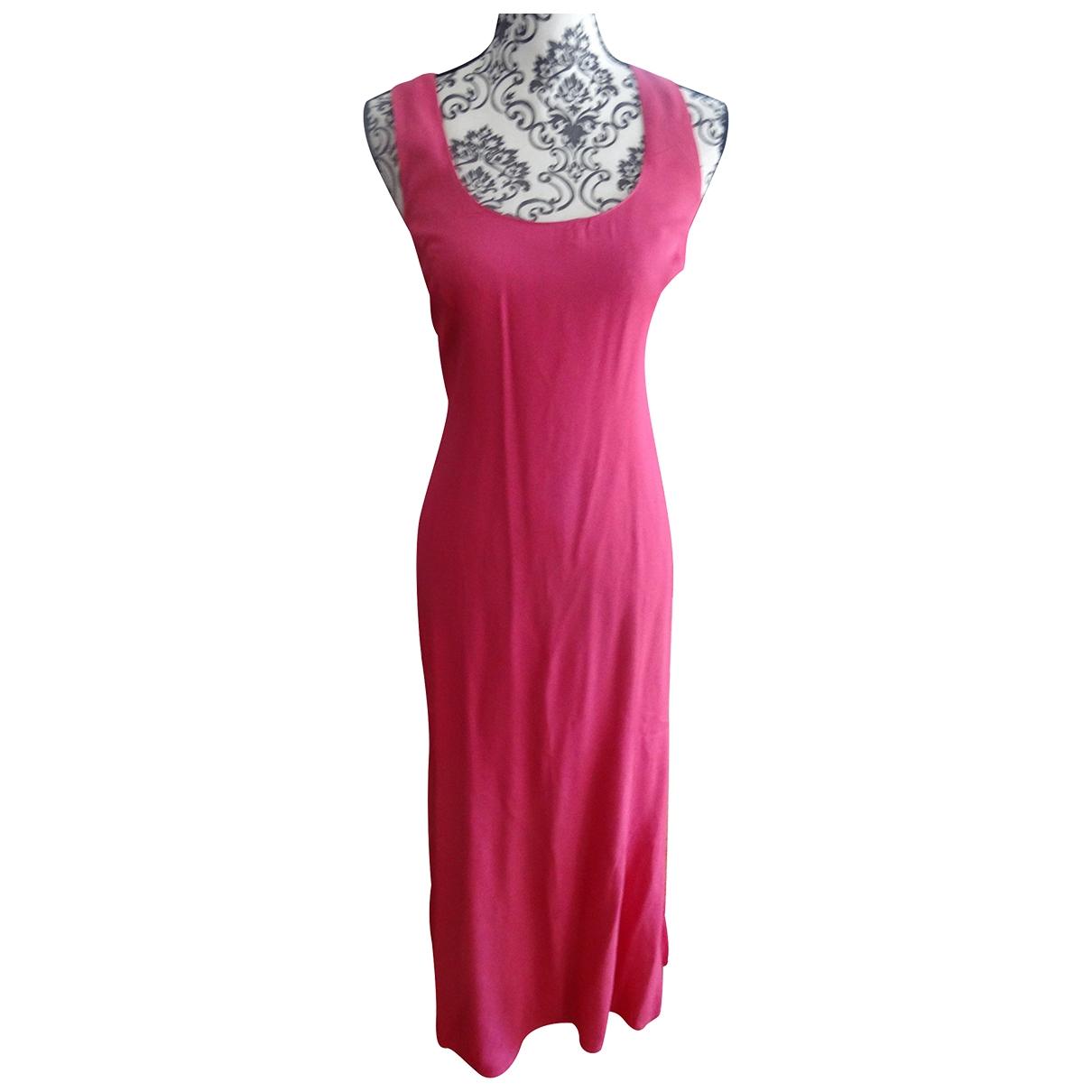 Gerard Darel \N Kleid in  Rosa Viskose