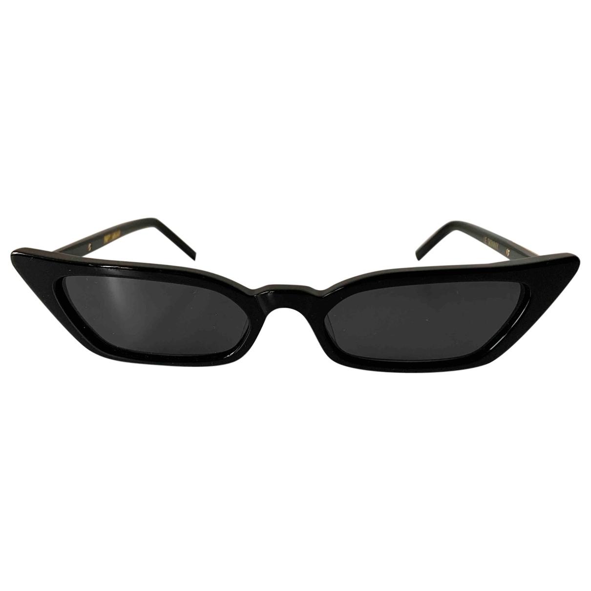 Poppy Lissiman \N Black Sunglasses for Women \N