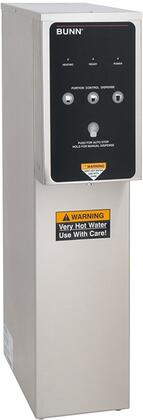 391000000 Dual Volt Portion Control Hot Water Dispenser with 3 Dispense Volume Options  Stainless Design  Precise Temperature and Plumbed Water