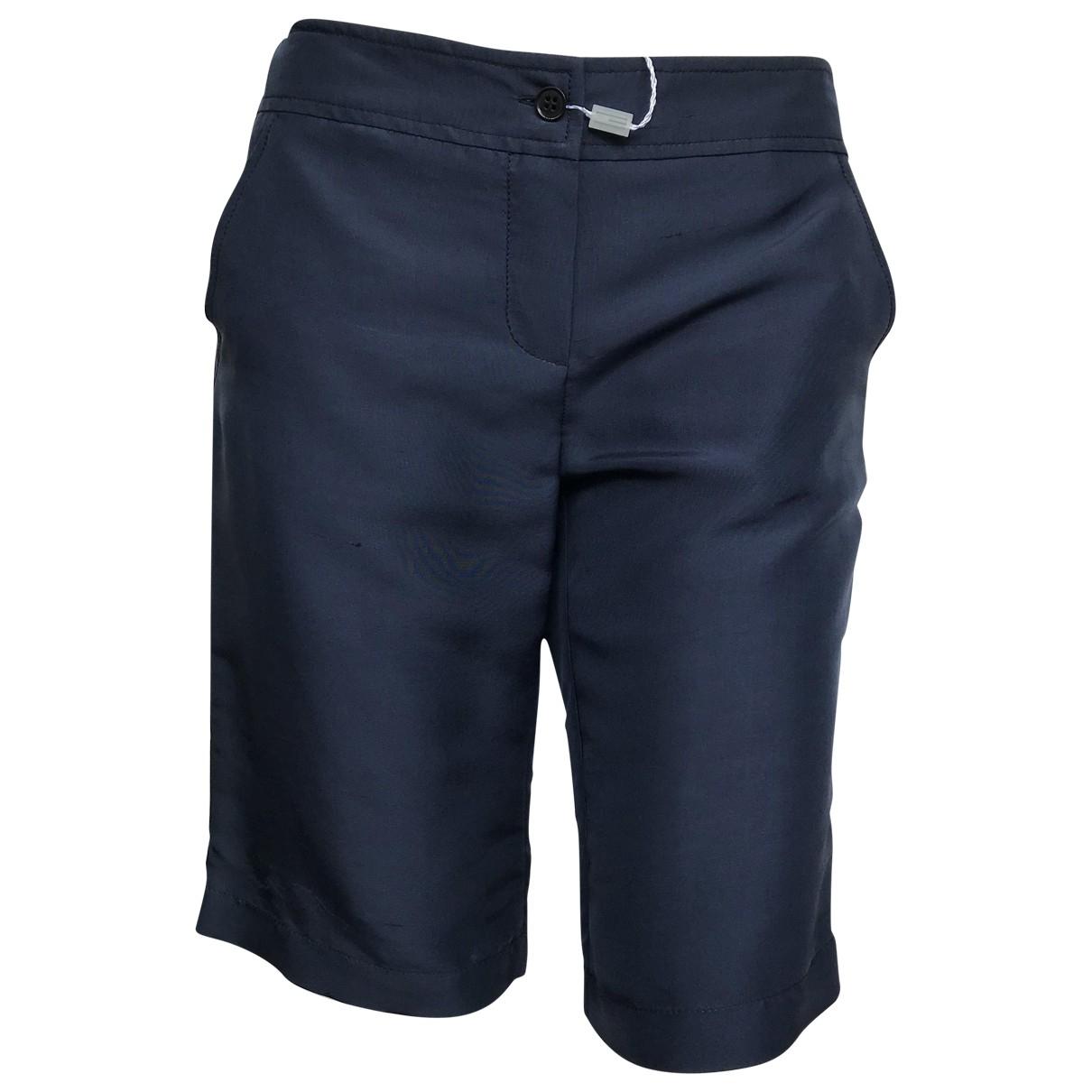 M Missoni \N Shorts in  Blau Seide