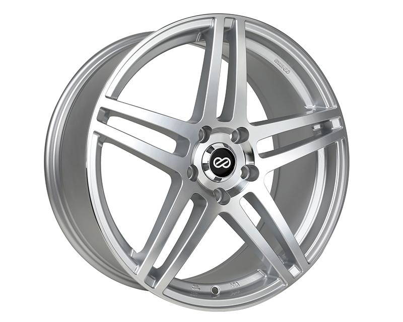 Enkei RSF5 Wheel Performance Series Silver Machined 15x6.5 4x100 38mm