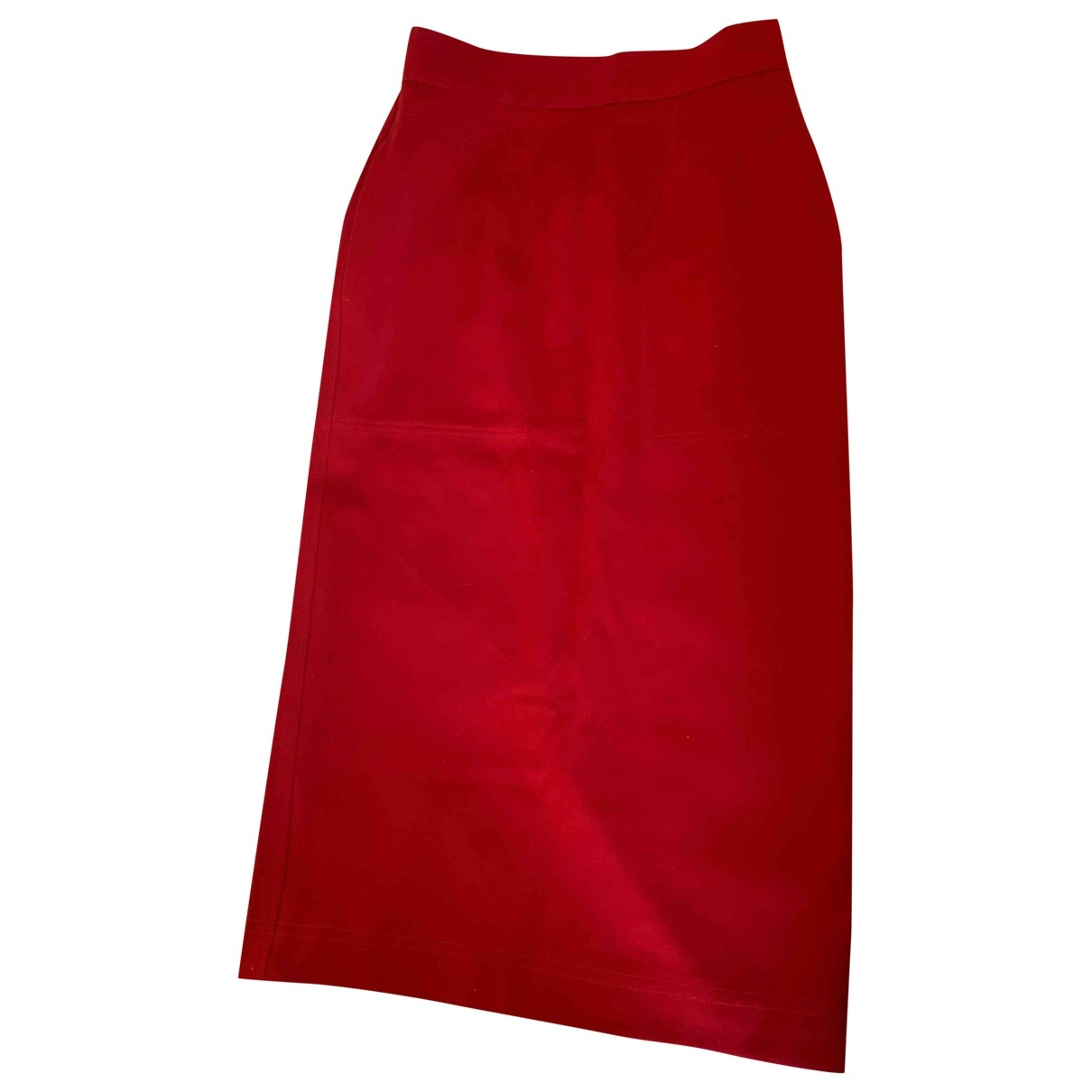 Moschino Love \N Rocke in  Rot Baumwolle
