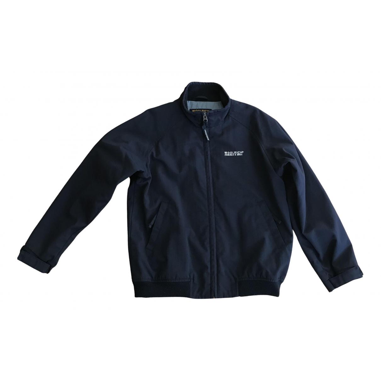 Woolrich \N Jacke, Maentel in  Blau Polyester
