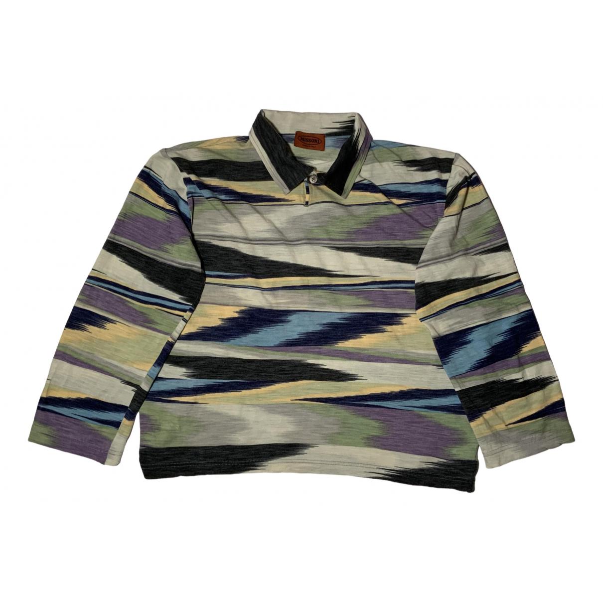 Missoni - Top   pour femme en laine - multicolore
