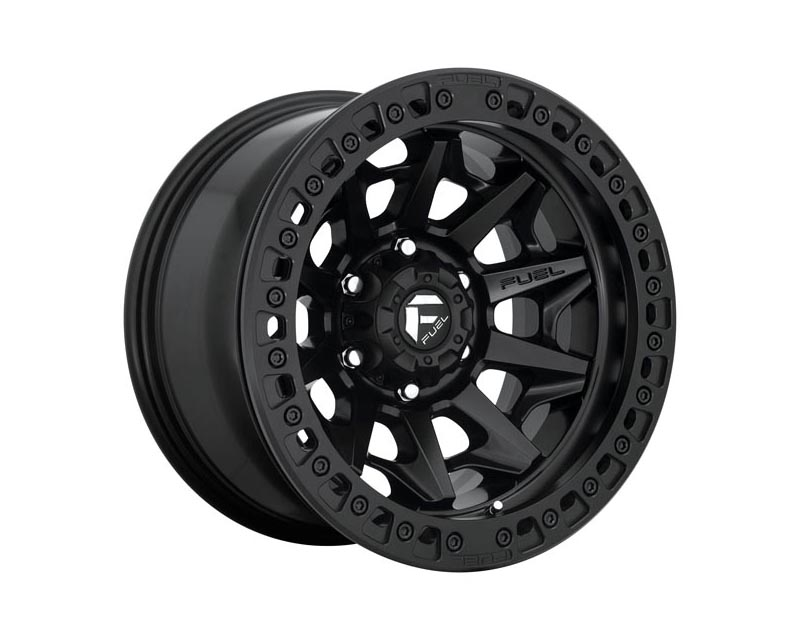 Fuel D113 Covert BL - Off Road Only Wheel 17x9 5X150 -15mm Matte Black