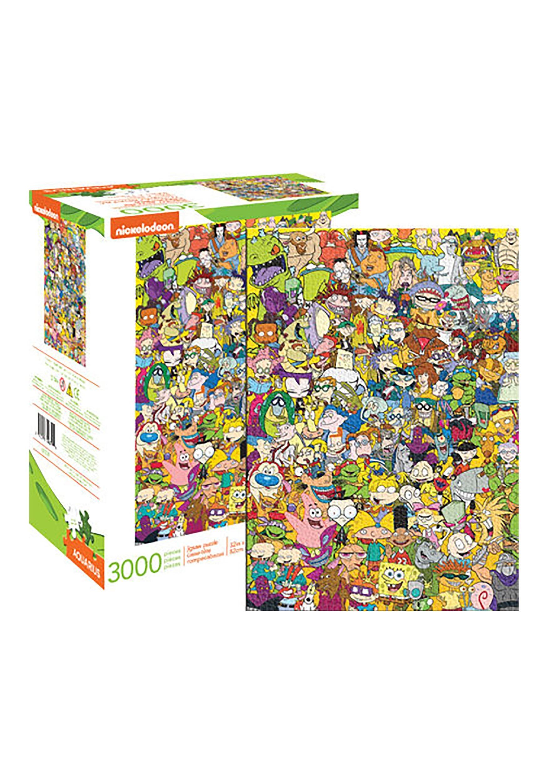 Cast 3000 pc Jigsaw Puzzle Nickelodeon