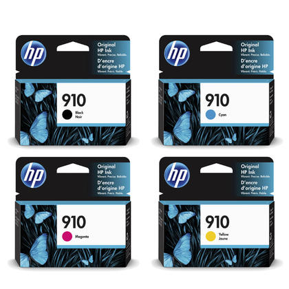 HP 910 Original Ink Cartridge Combo BK/C/M/Y