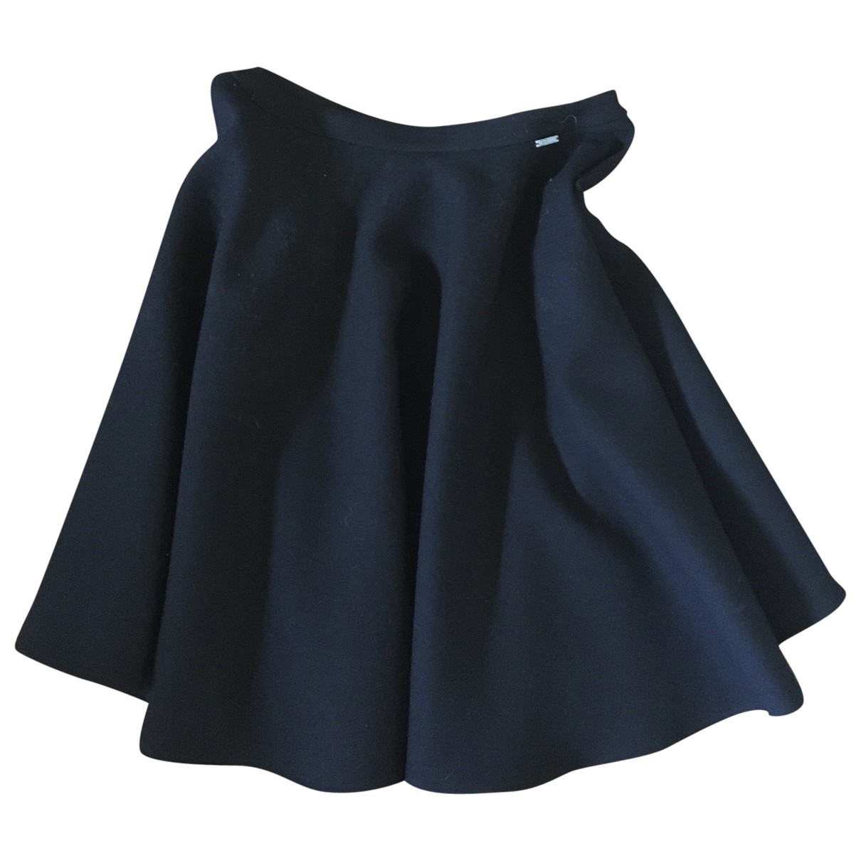 Gianfranco Ferré \N Black Wool skirt for Women 40 IT