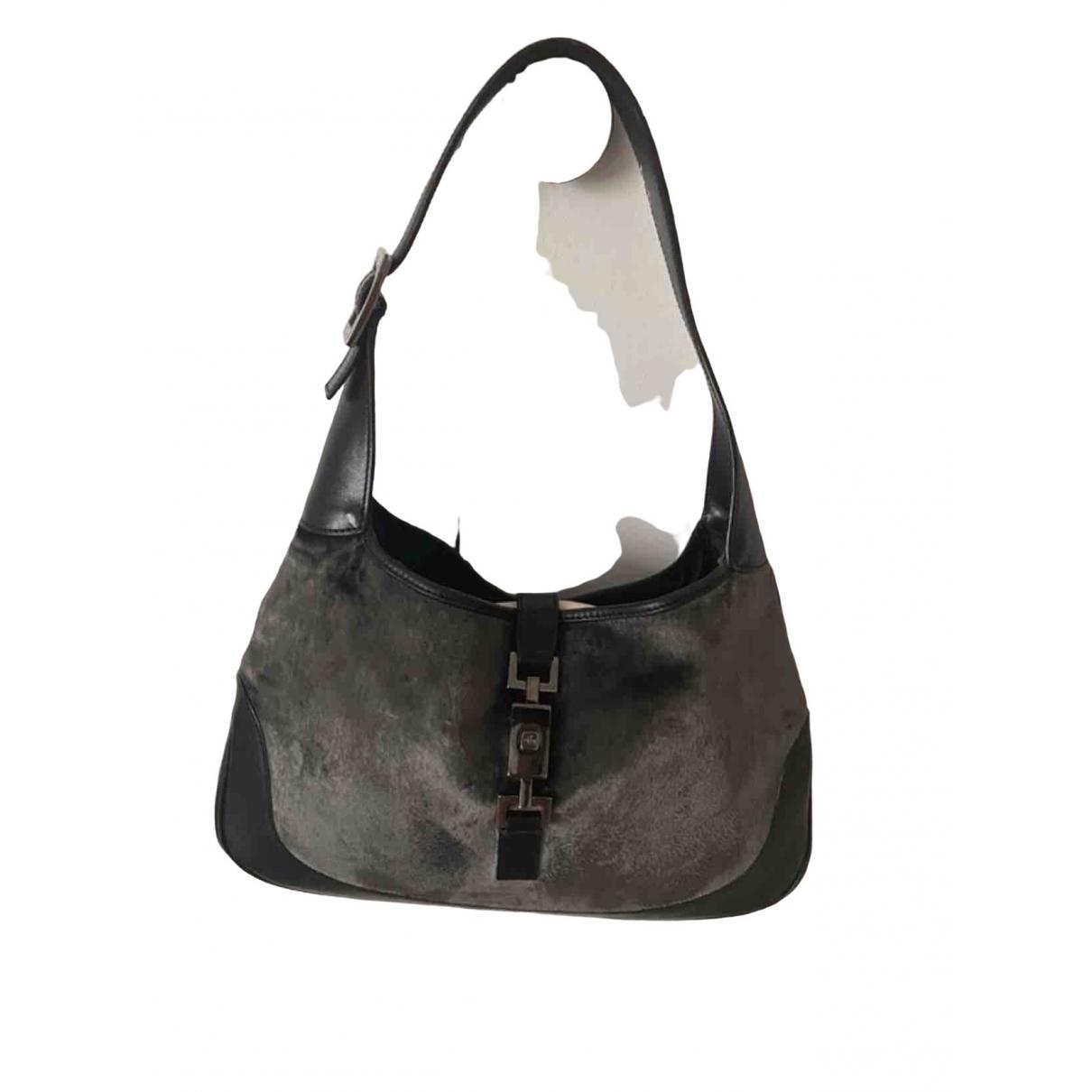 Gucci Jackie Vintage  Black Velvet handbag for Women \N