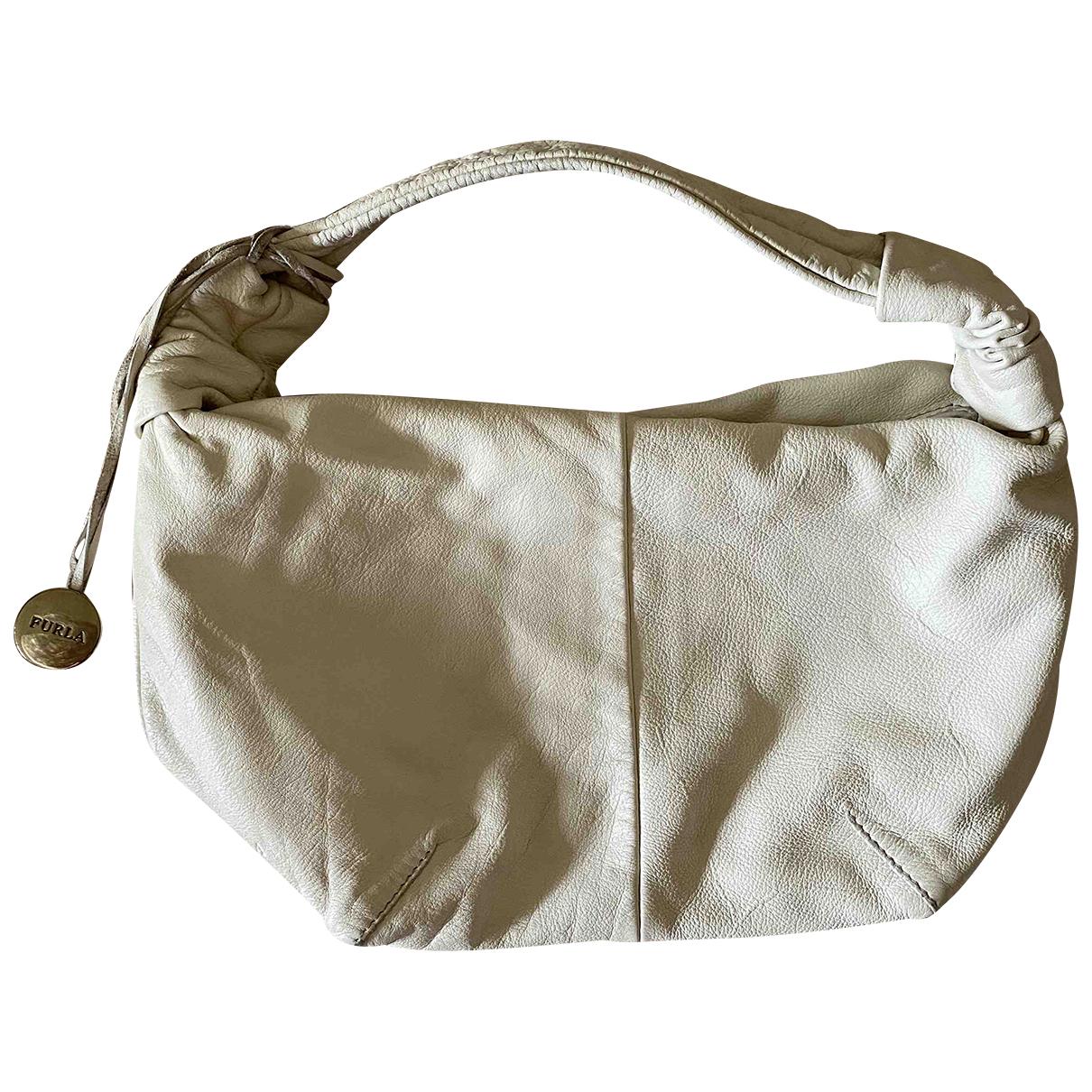 Furla N White Leather handbag for Women N