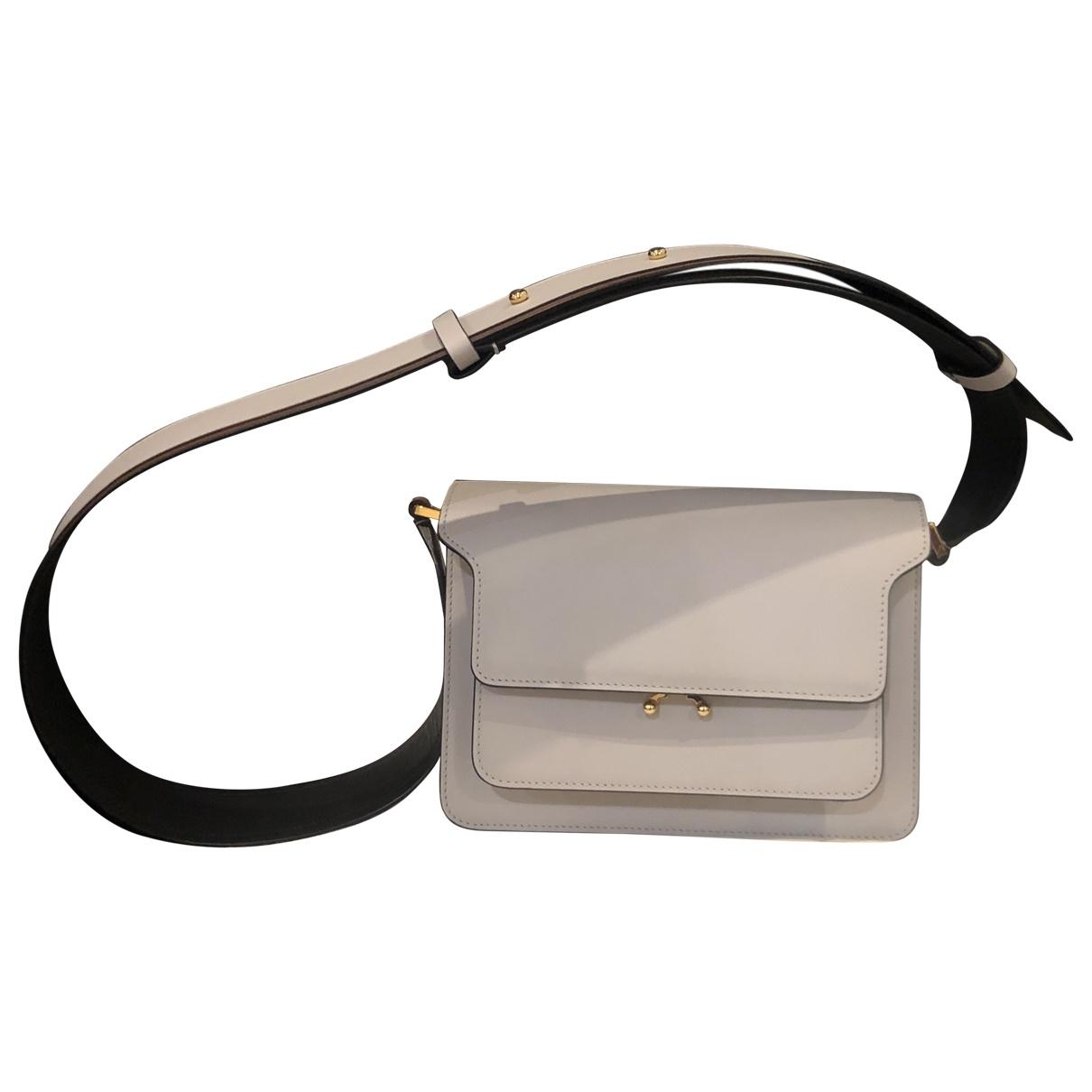 Marni Trunk Grey Leather handbag for Women \N