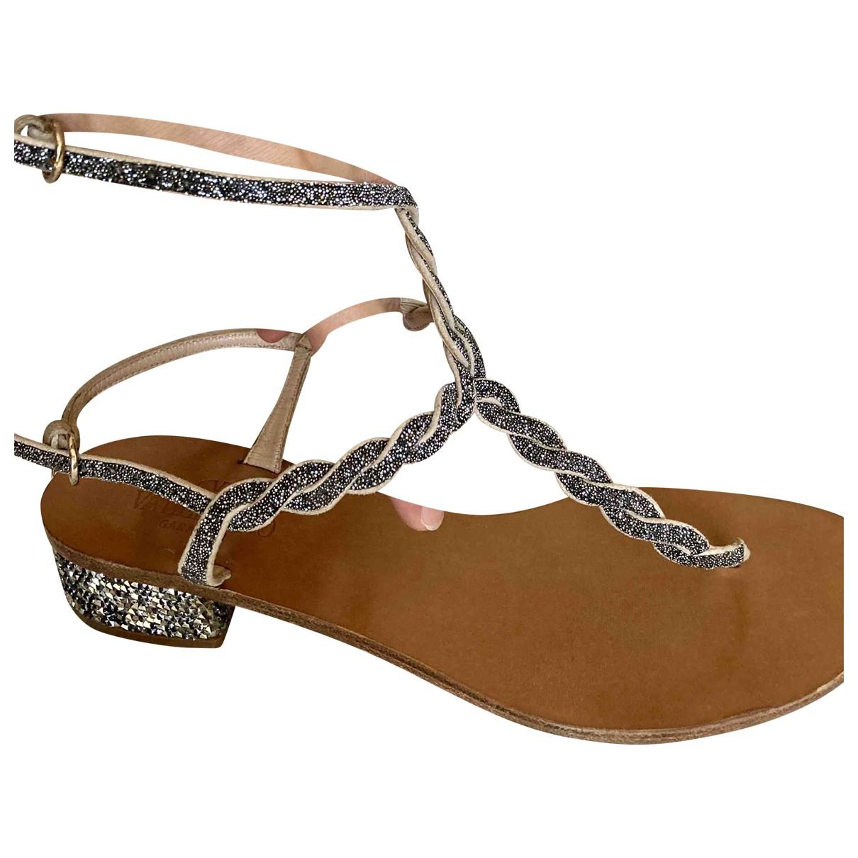 Valentino Garavani \N Leather Sandals for Women 39 IT