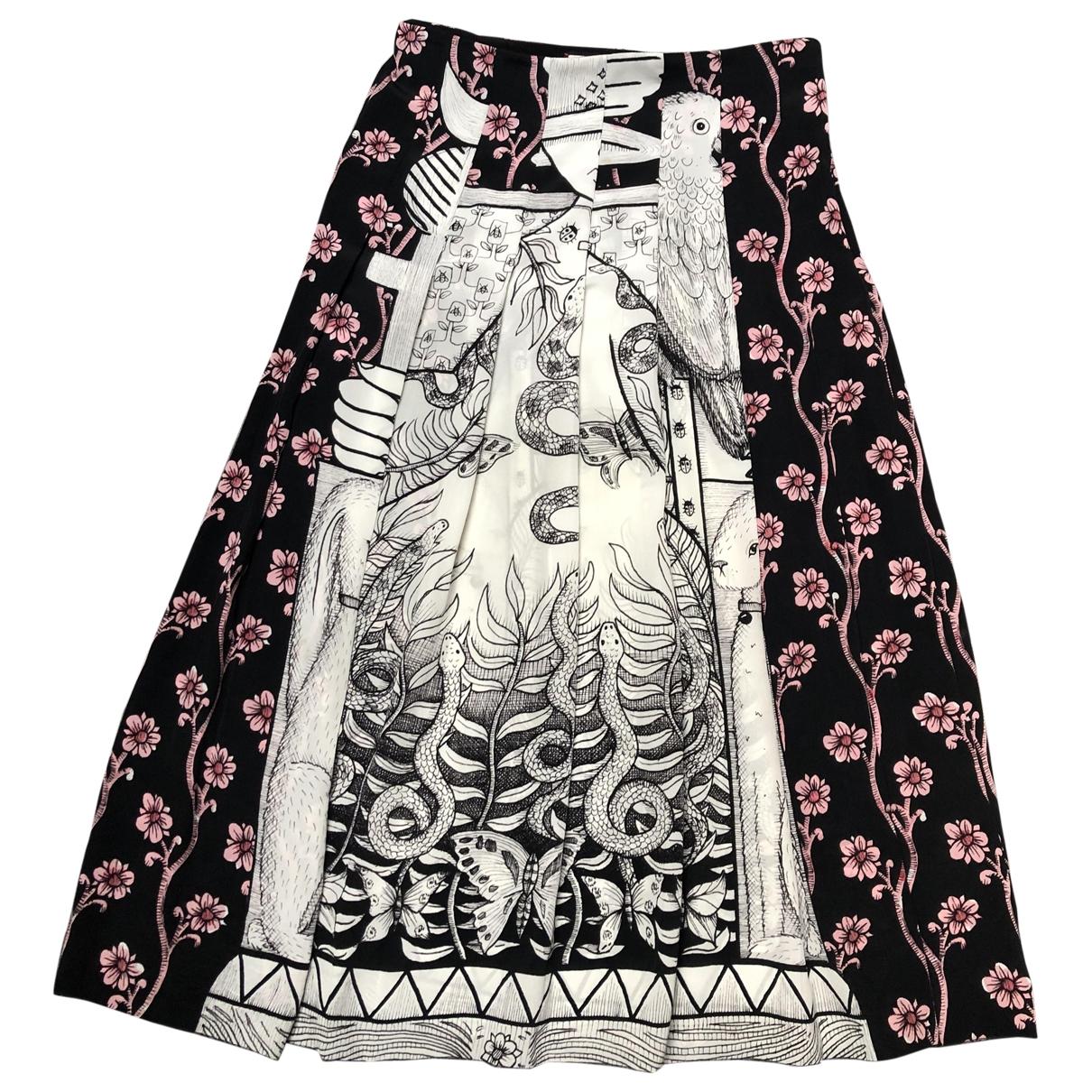 Gucci \N Multicolour Silk skirt for Women 42 IT