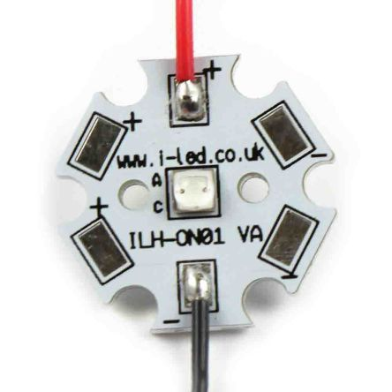 Intelligent LED Solutions ILS ILH-OG01-ST90-SC221-WIR200., OSLON Circular LED Array