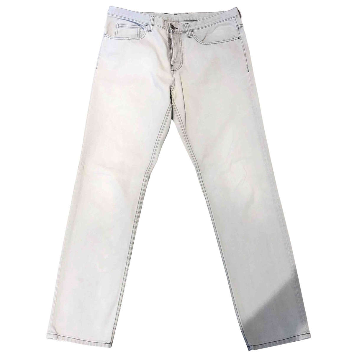 Gucci \N White Cotton - elasthane Jeans for Men 33 US