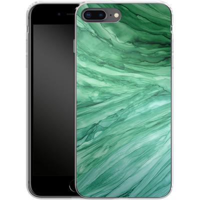 Apple iPhone 7 Plus Silikon Handyhuelle - Emerald von Becky Starsmore
