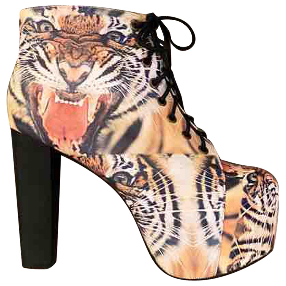 Jeffrey Campbell - Boots   pour femme - multicolore