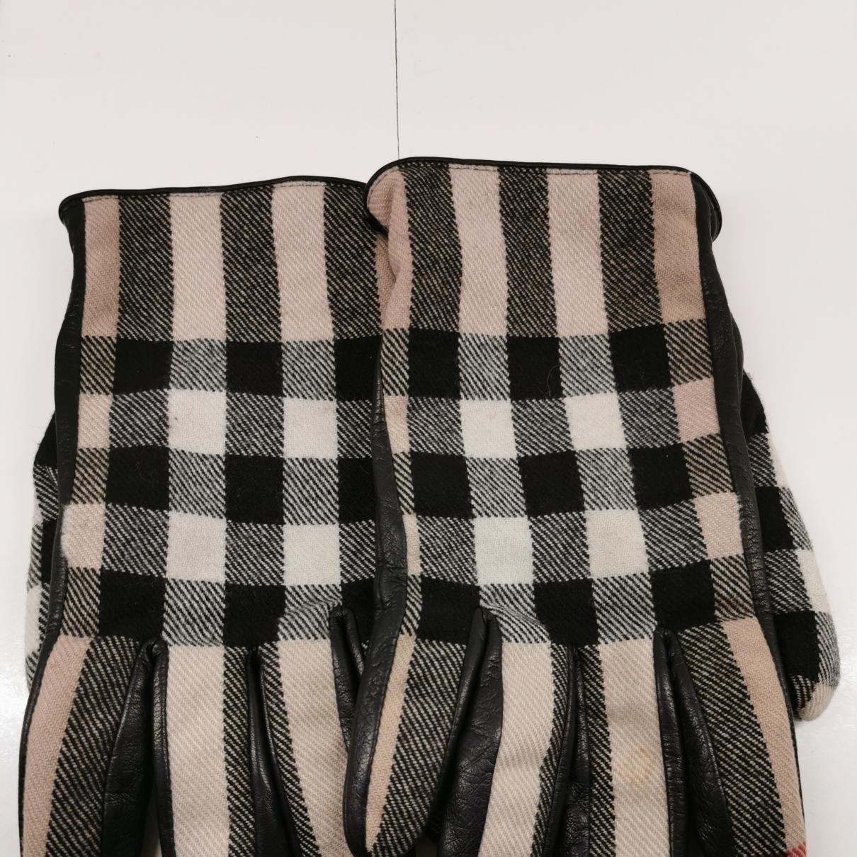 Burberry \N Handschuhe in  Bunt Leder