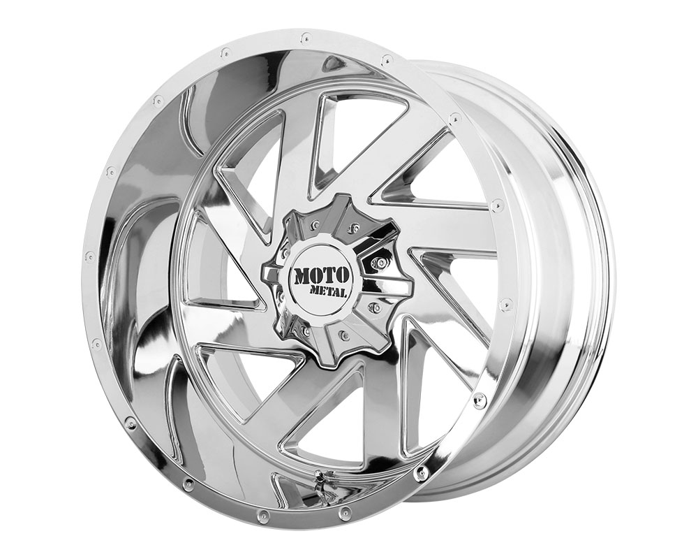 Moto Metal MO98822080218N MO988 Melee Wheel 22x10 8x8x165.1 -18mm Chrome