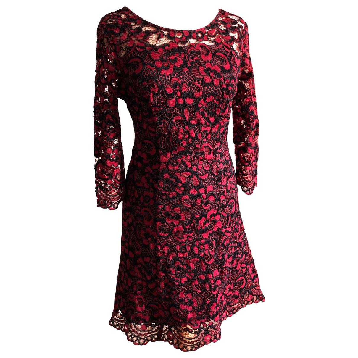 Liu.jo - Robe   pour femme en dentelle - rouge