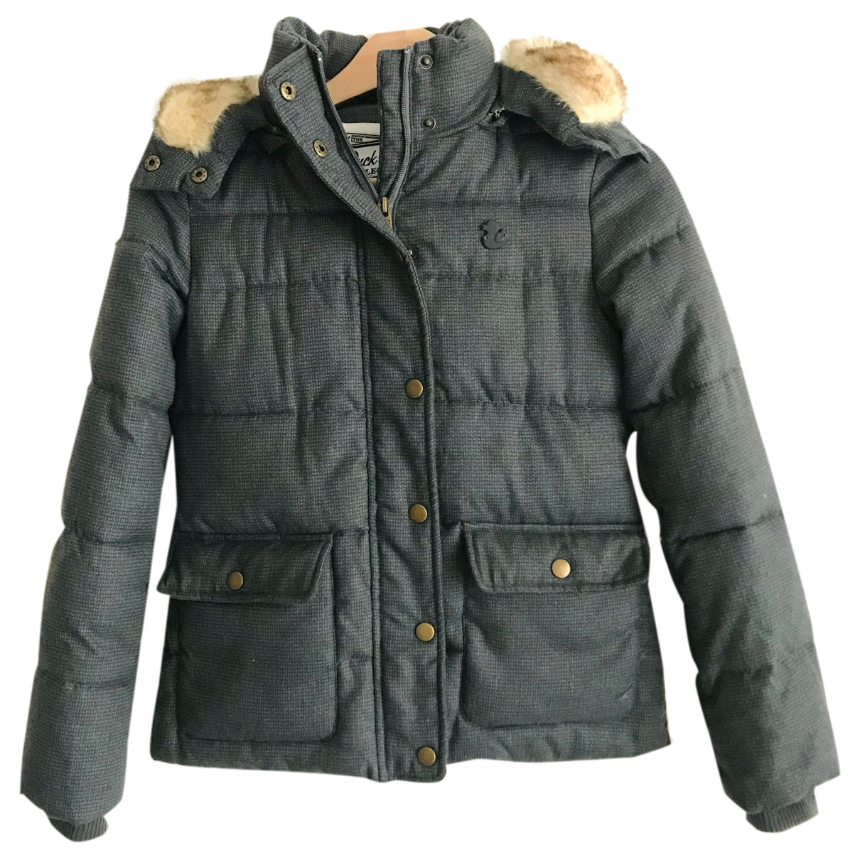 - Manteau   pour femme - gris