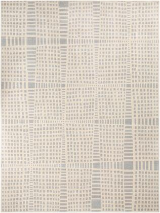 City CIT-2320 710 x 103 Rectangle Modern Rug in Light Gray