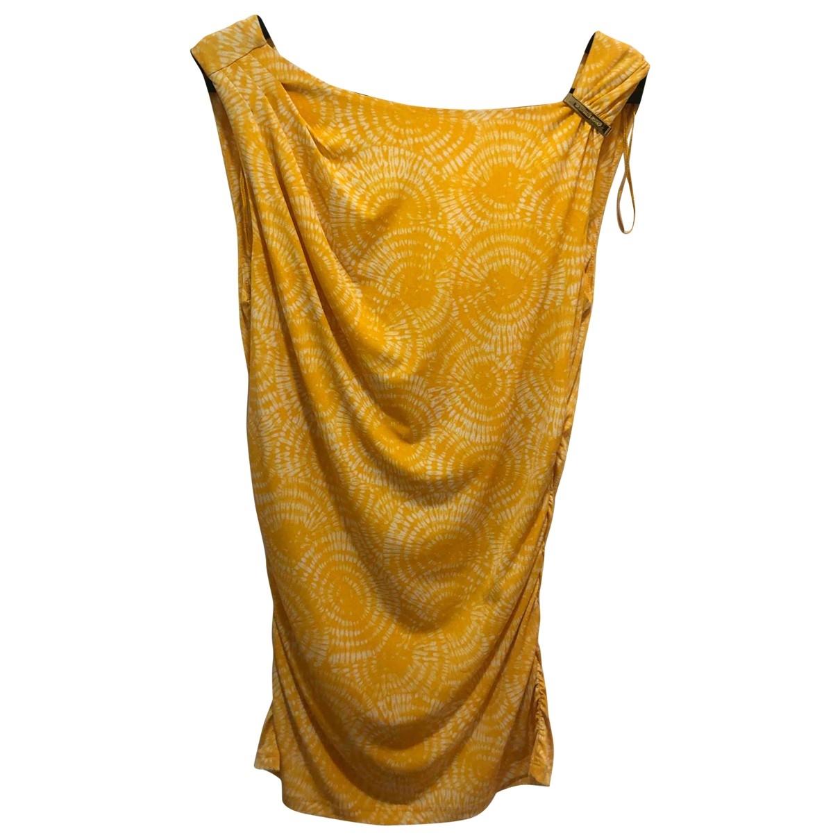 Michael Kors - Top   pour femme - jaune
