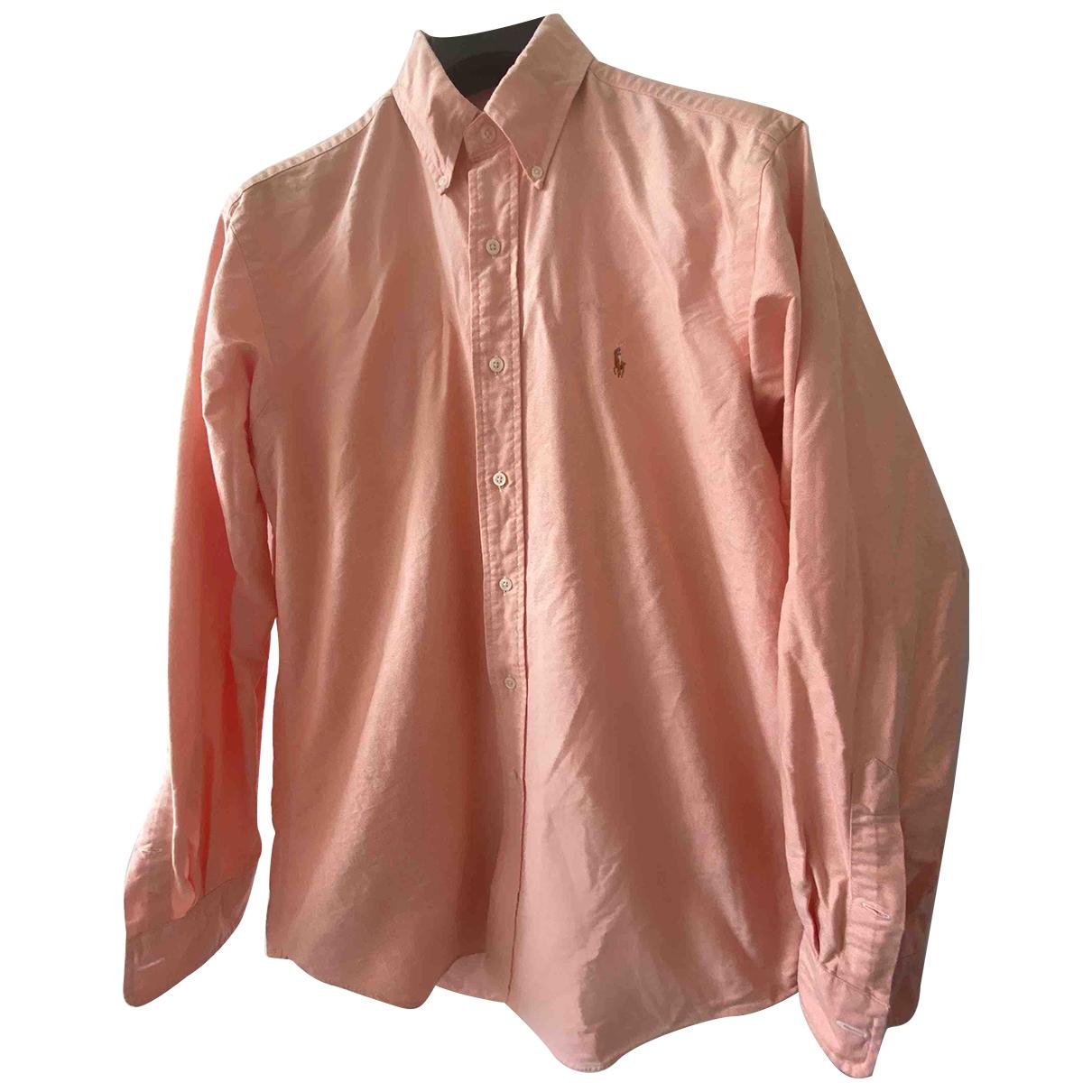 Polo Ralph Lauren - Chemises   pour homme en coton - orange
