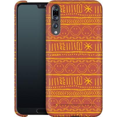 Huawei P20 Pro Smartphone Huelle - Tribal Orange von Smiley®