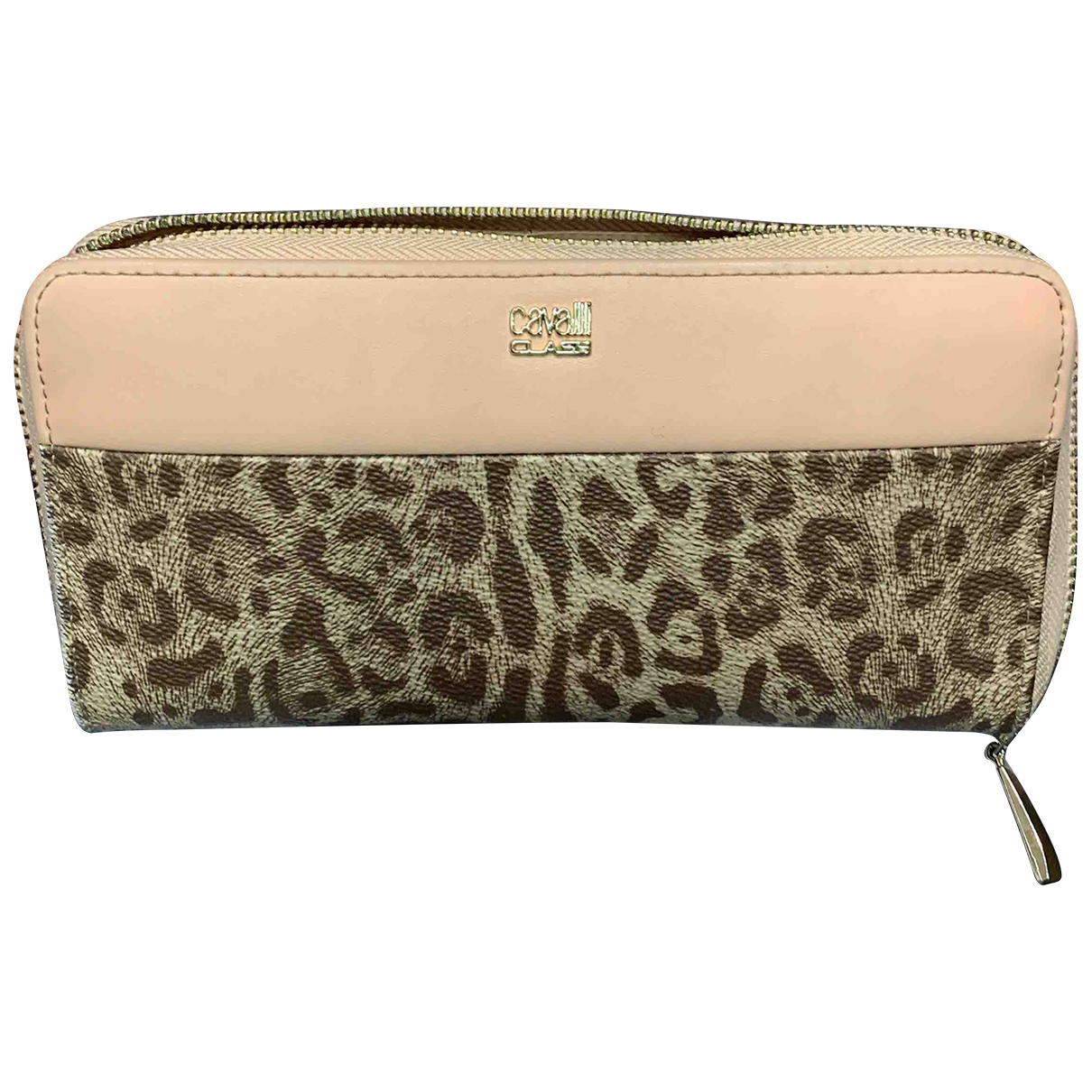 Roberto Cavalli N Pink Leather wallet for Women N