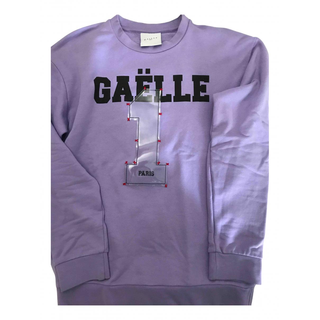 Gaelle Paris \N Pullover.Westen.Sweatshirts  in  Lila Baumwolle