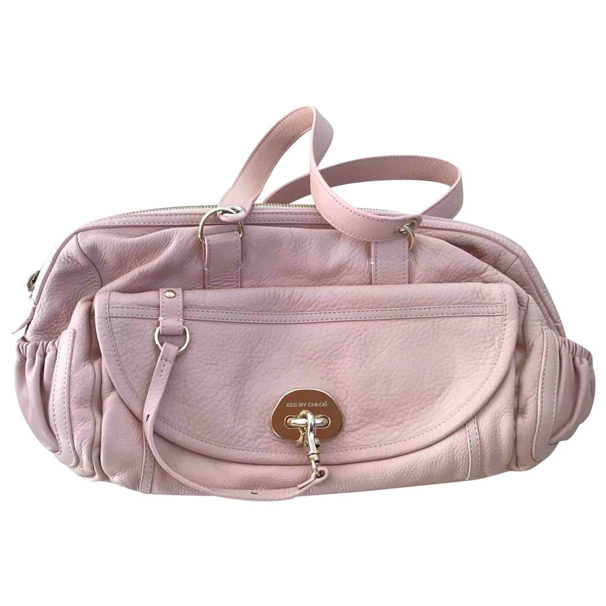 See By Chloe \N Handtasche in  Rosa Leder