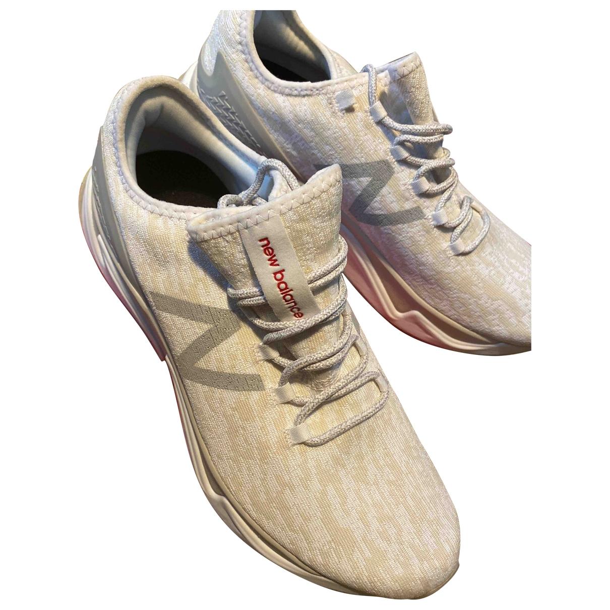 New Balance - Baskets   pour homme en toile - blanc