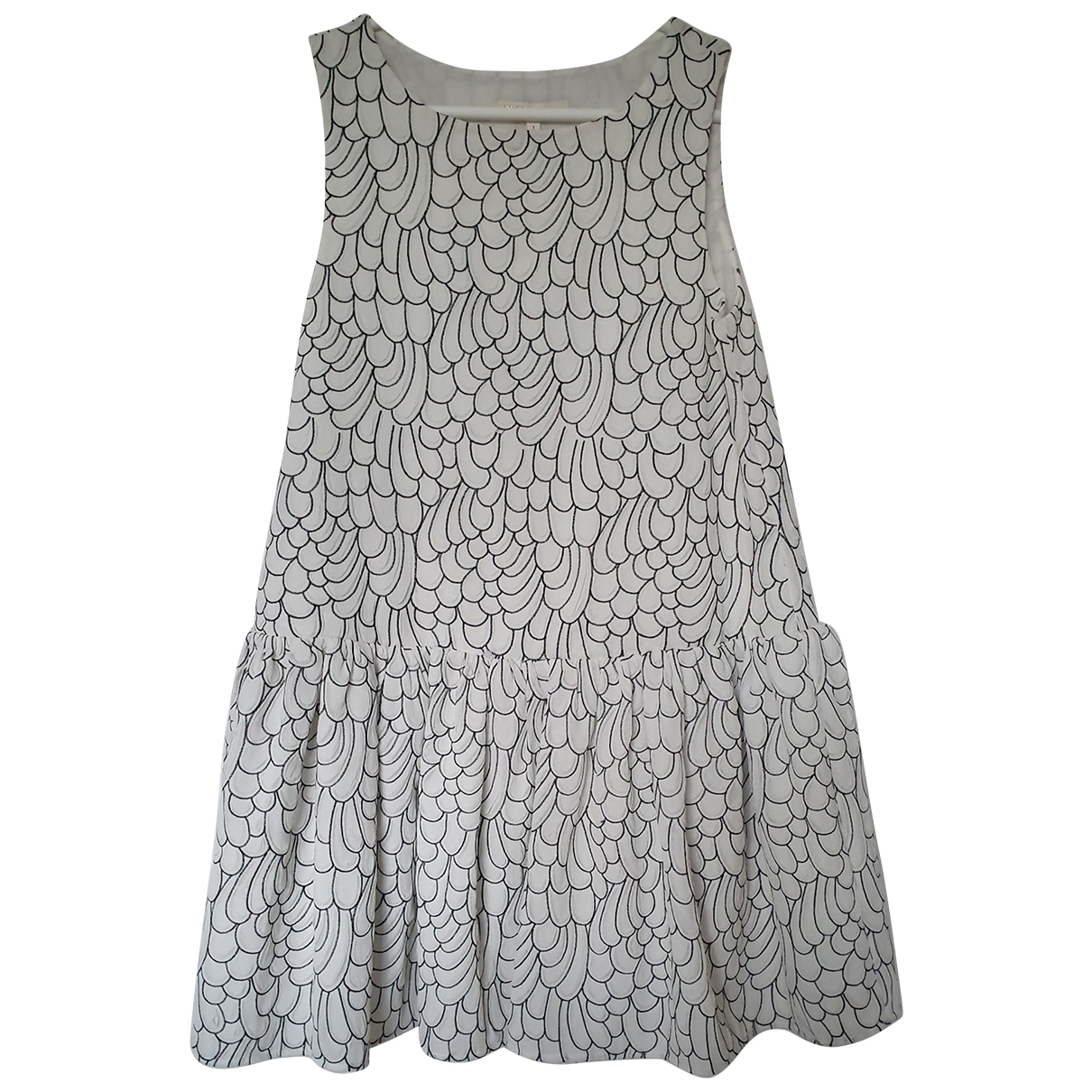 Maje \N White dress for Women 1 0-5