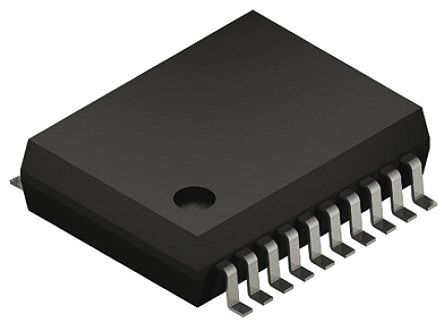Analog Devices ADUM3154BRSZ , 7-Channel Digital Isolator 34Mbps, 3750 Vrms, 20-Pin SSOP