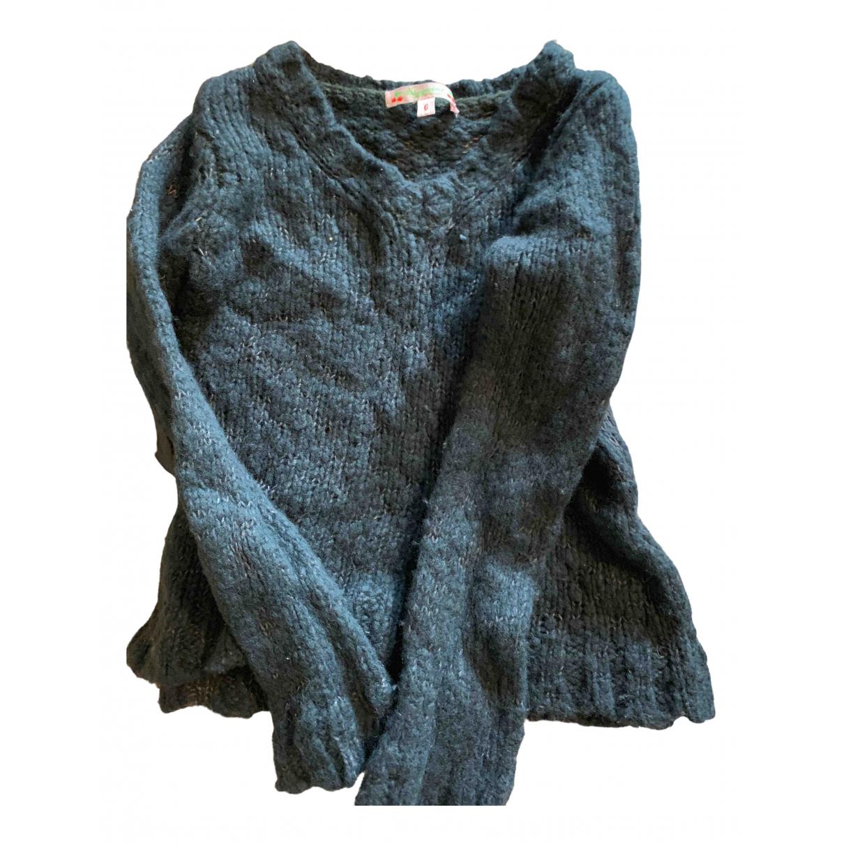 Bonpoint - Pull   pour enfant en laine - gris