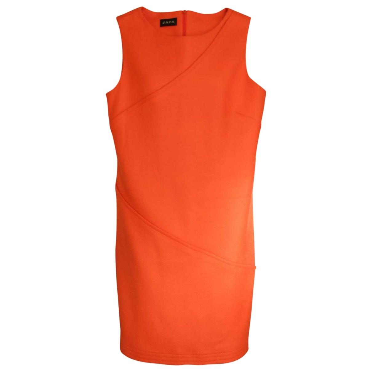 Zapa \N Kleid in  Orange Wolle