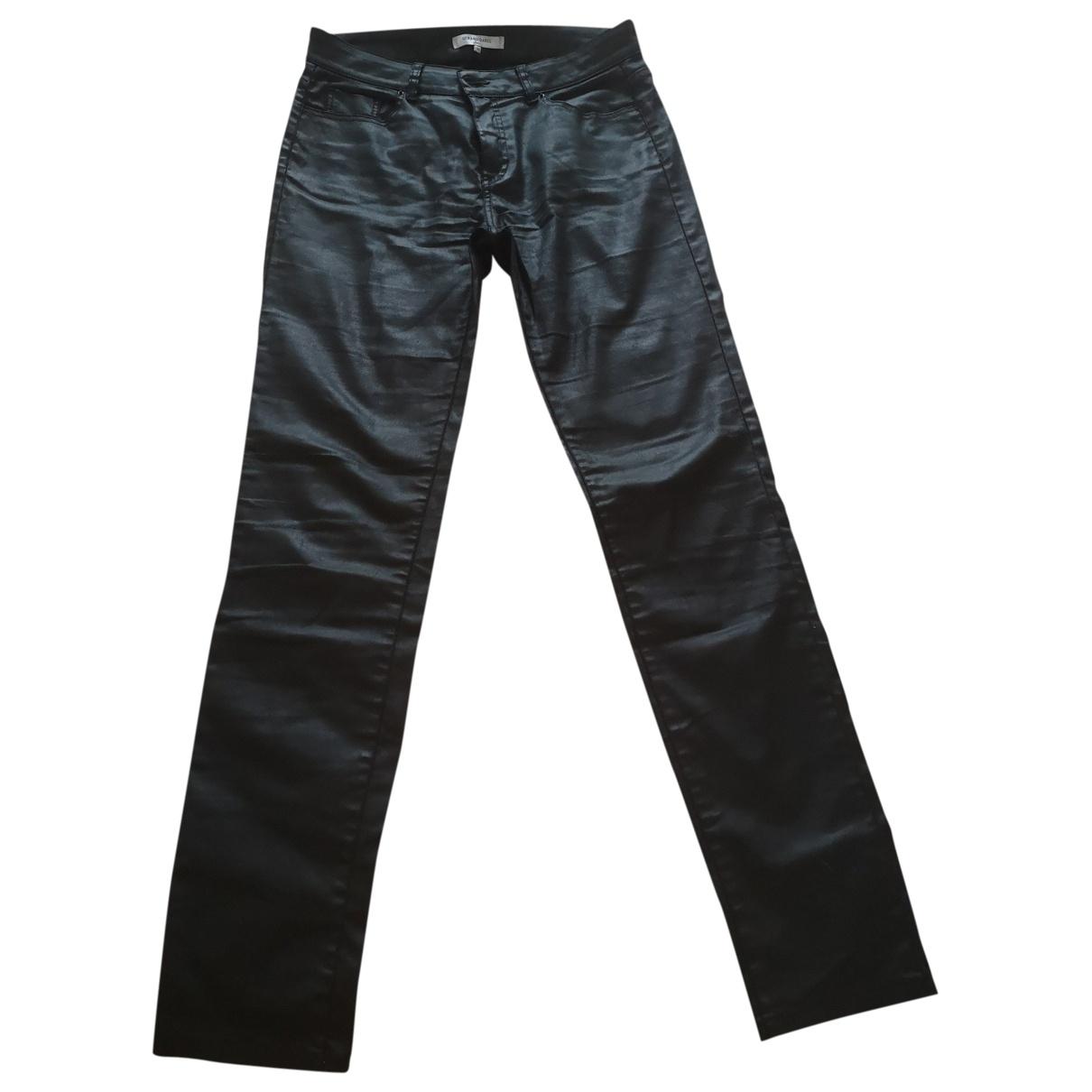 Gerard Darel \N Black Cotton - elasthane Jeans for Women 38 FR
