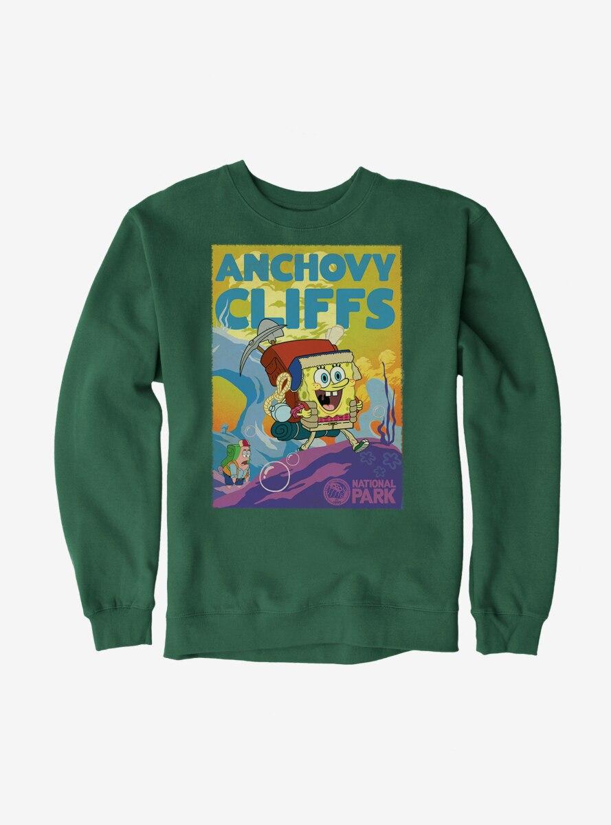 SpongeBob SquarePants Anchovy Cliffs Park Sweatshirt