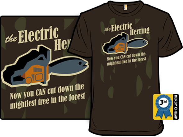 With A… Herring! T Shirt