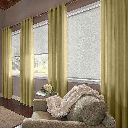 Bali Valencia Custom Light-Filtering Grommet-Top Single Curtain Panel, One Size , Green
