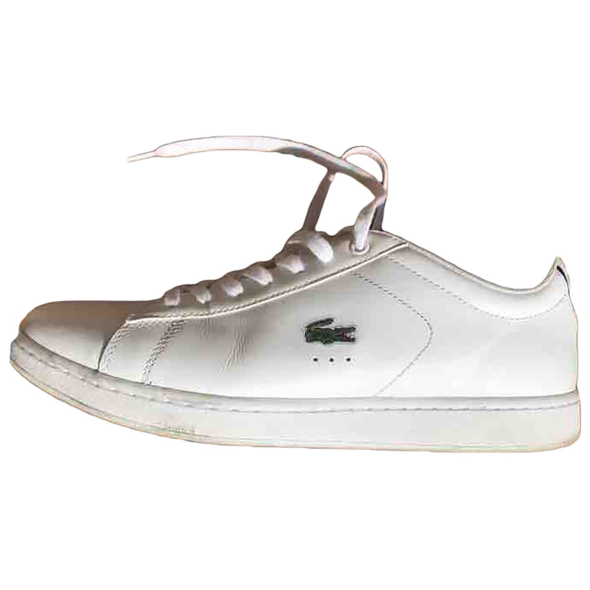 Lacoste \N Sneakers in  Weiss Leder