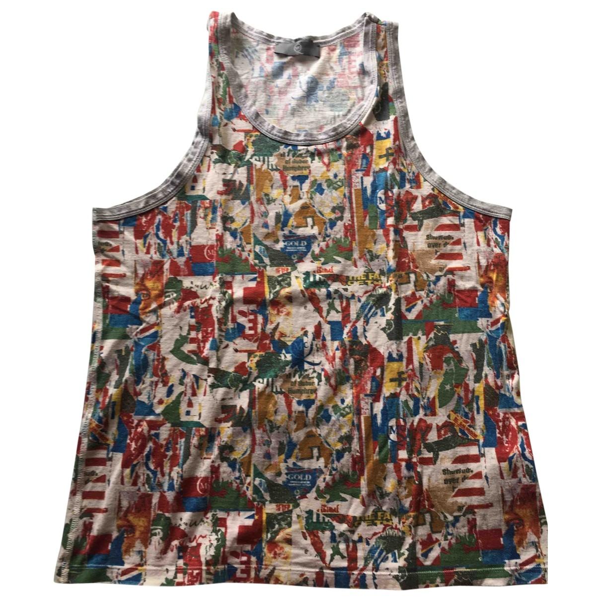 Mcq \N Multicolour Cotton T-shirts for Men XL International