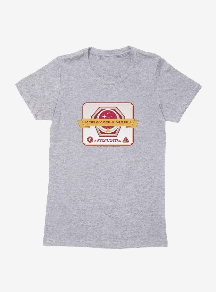 Star Trek Starfleet Academy Examination Womens T-Shirt
