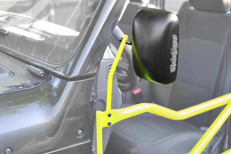 Steinjager J0048985 Mirror Kit, Tube Doors Gladiator JT 2019+ Neon Yellow