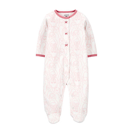 Carter's Baby Girls Sleep and Play, 3 Months , Pink