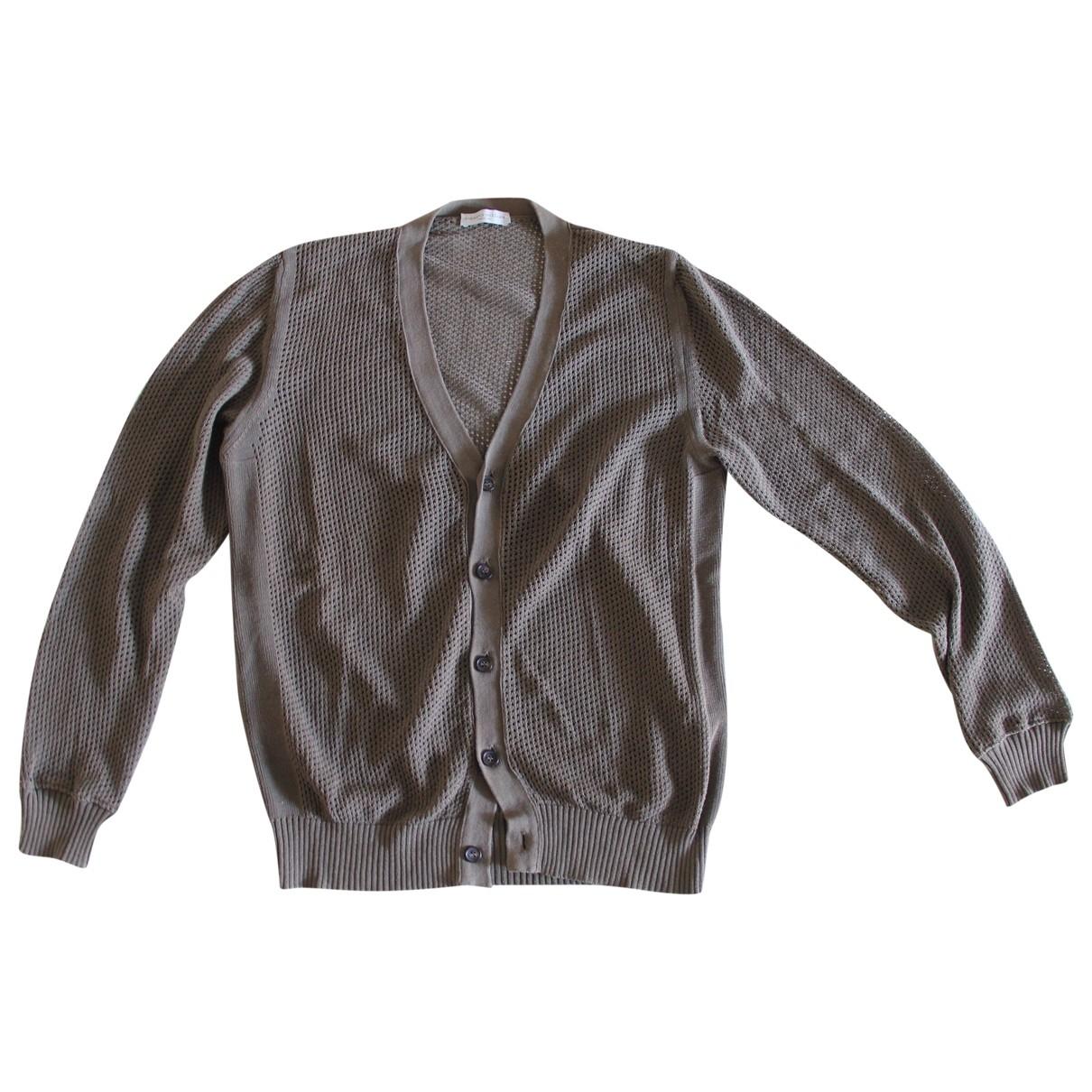 Roberto Collina - Pulls.Gilets.Sweats   pour homme en coton - kaki
