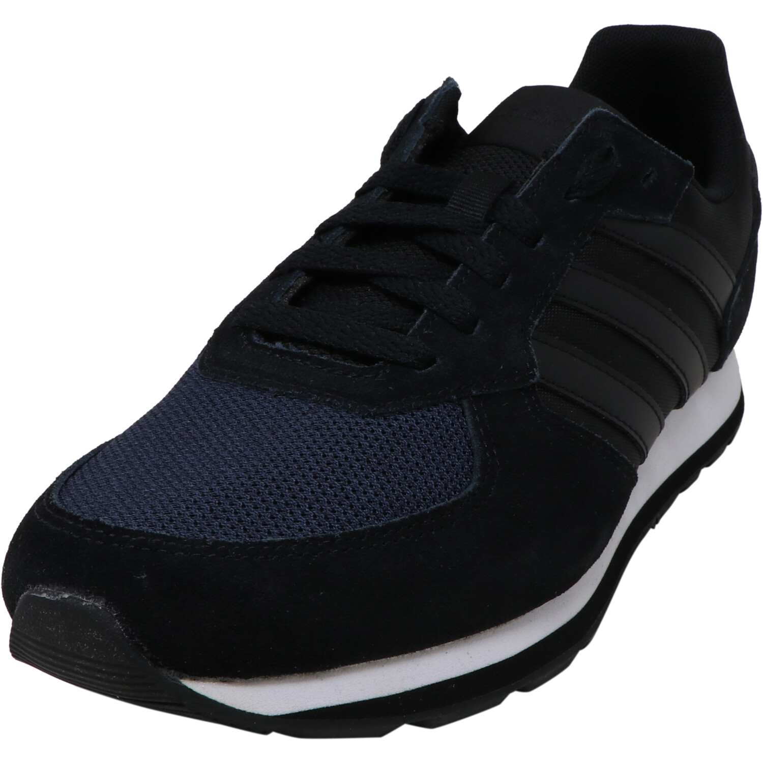 Adidas Women's 8K Running Shoes - 8.5M - Core Black / Core Black / Legend Ink